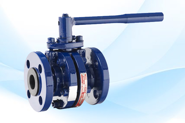 Antistatic TFA Lined Ball Valve